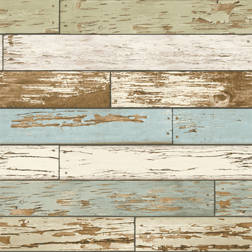 2701-22302 reclaimed scrap wood wallpaper sky blue