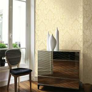 gatsby classic damask wallpaper roomset