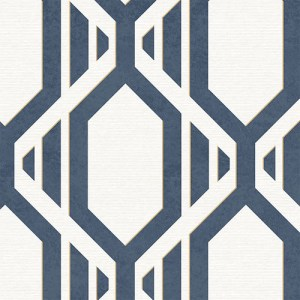 SH34547 shades graphic harlequin geometric wallpaper blue beige