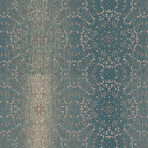 TX34826 texture style 2 quilted ombre damask wallpaper teal