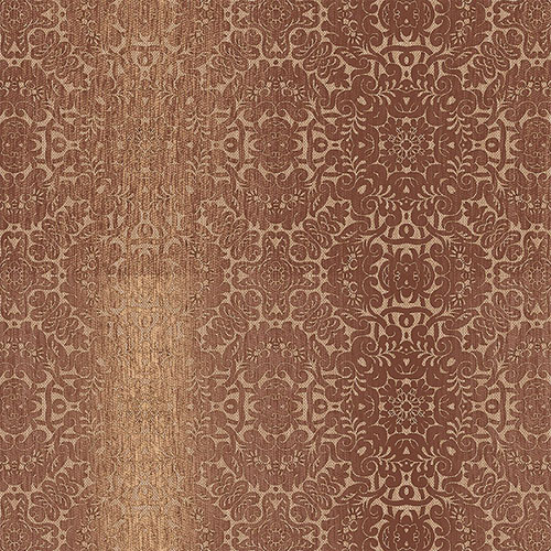TX34827 texture style 2 quilted ombre damask wallpaper terracotta