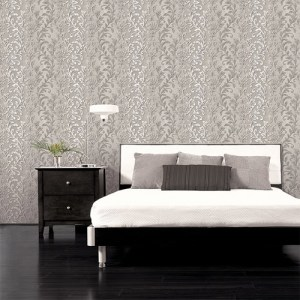 texture style 2 contemporary ombre damask wallpaper roomset