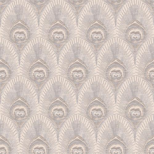 VL214131 obsession van luit peacock wallpaper taupe