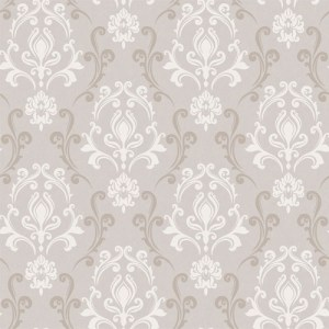 VL214172 obsession van luit mercury damask wallpaper beige cream