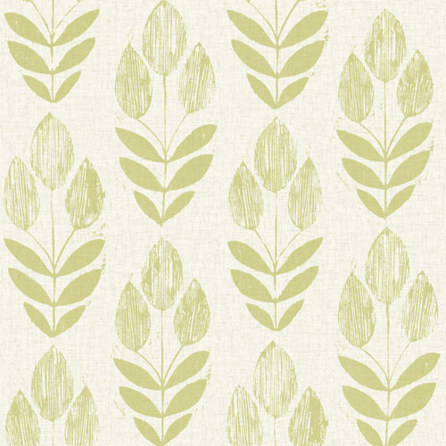 Block Print Wallpaper block print tulip wallpaper - lelands wallpaper