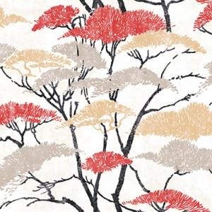 AI41400 Koi Confucius Wallpaper Red