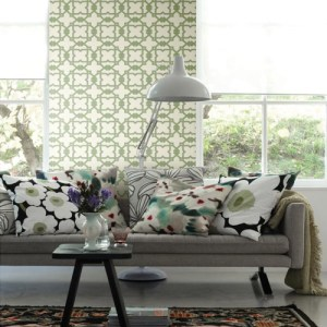 Pattern Play Serenity Now Wallpaper Roomset