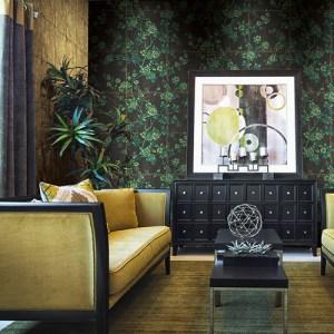 Koi Great Wall Wallpaper Roomset
