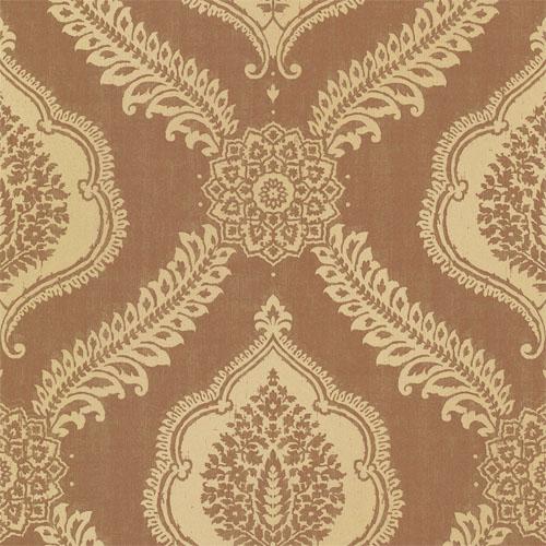 2618-21305 Alhambra Zoraya Damask Wallpaper Copper