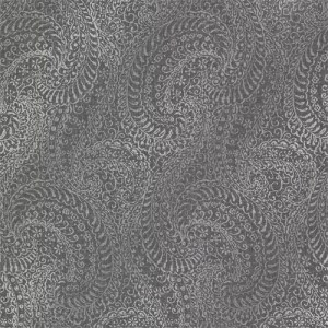 2618-21321 Alhambra Daraxa Paisley Wallpaper Black