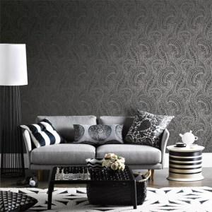 Alhambra Daraxa Paisley Wallpaper Roomset