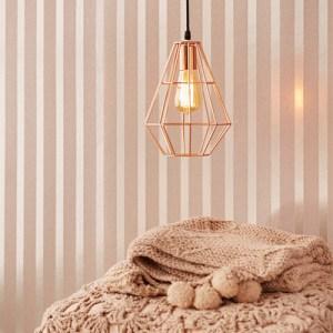 Eijffinger Whisper Doris Beaded Stripe Wallpaper Roomset