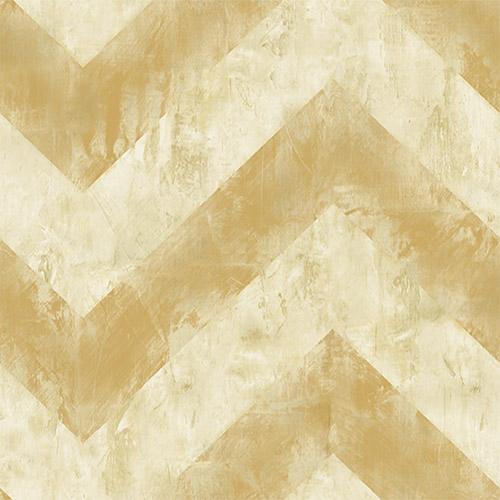 AV50405 Seabrook Avant Garde Hubble Chevron Wallpaper Gold