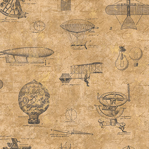 JP31500 Journeys Magellan Wallpaper Tan