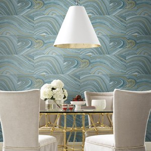 Dream On Onyx Wallpaper Roomset