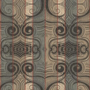 MW9162 Carey Lind Menswear Wave Length Sure Strip Wallpaper Cordovan