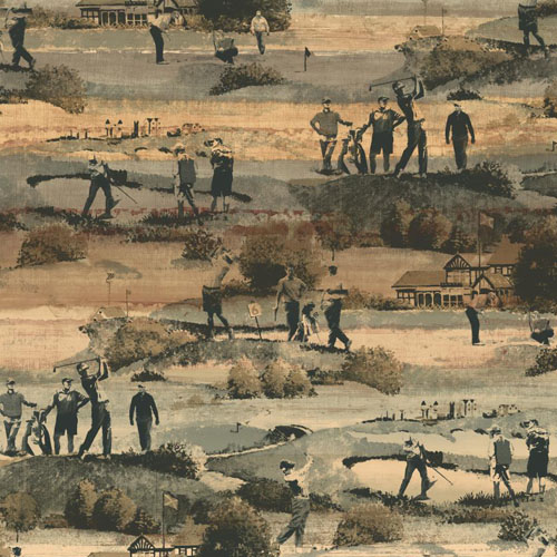 MW9231 Carey Lind Menswear Old Course Sure Strip Wallpaper Chino