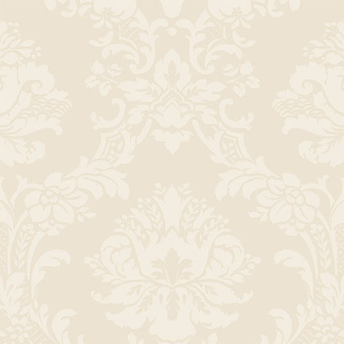 SL27543 Norwall Classic Silks 2 Traditional Wallpaper Cream