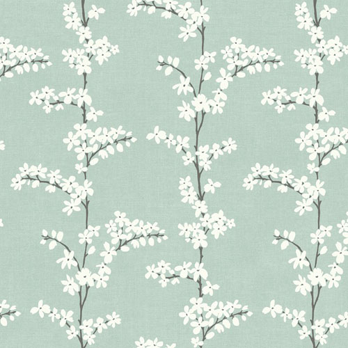 SH70312 New Hampton Appleton Wallpaper Aqua and Gray