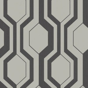 SH70900 New Hampton Slate Hill Wallpaper Charcoal Silver