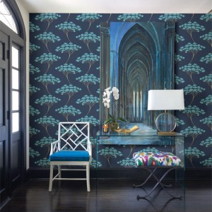 26791-22409 Brewster Kenneth James Azmaara Banyan Tree Wallpaper Roomset