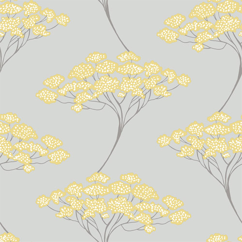 2671-22412 Brewster Kenneth James Azmaara Banyan Tree Wallpaper Grey