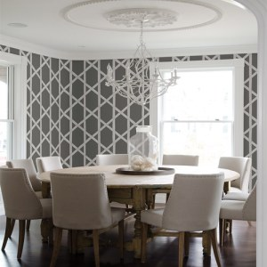 2671-22421 Brewster Kenneth James Azmaara Mandara Trellis Wallpaper Roomset