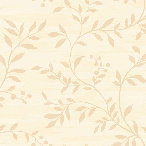 NE50805 Seabrook Nouveau Luxe Couture Leaf Scroll Wallpaper Cream