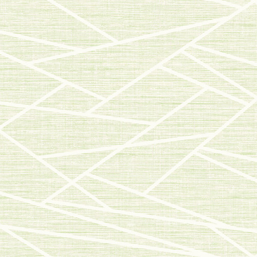 LG90104 Seabrook Wallcoverings Lugano Cecita Puzzle Wallpaper Celery