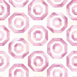 LG91509 Seabrook Wallcoverings Lugano Faravel Geo Wallpaper Pink