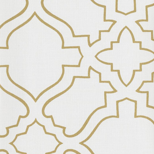 RRD7252 York Wallcoverings Ronald Redding Atelier Arabesque Wallpaper Gold
