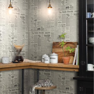 York Wallcoverings Joann Gaines Magnolia Home The Daily Wallpaper Roomset