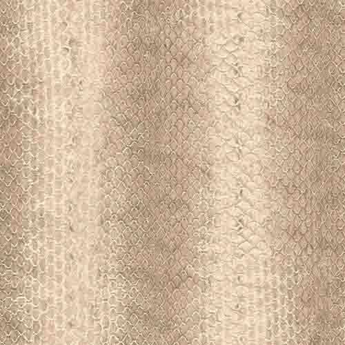 G67426 Patton Wallcoverings Natural FX Snakeskin Wallpaper Khaki