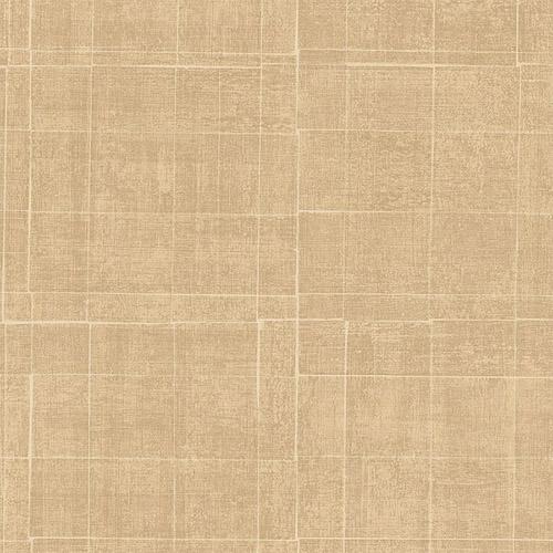 G67456 Patton Wallcoverings Natural FX Brushed Mosaic Wallpaper Khaki