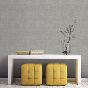 Patton Wallcoverings Natural FX Brushed Mosaic Wallpaper Roomset