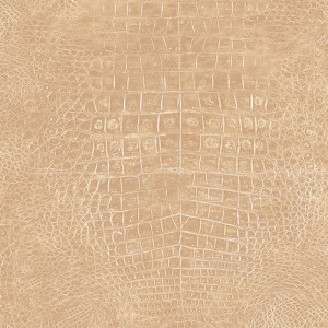 G67499 Patton Wallcoverings Natural FX Crocodile Skin Wallpaper Tan