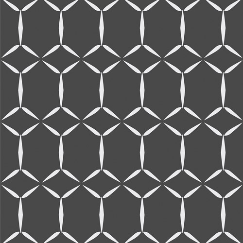 2716-23855 Brewster Wallcoverings Eclipse Fusion Geometric Wallpaper Black
