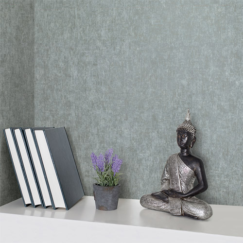 Brewster Wallcoverings Texturall 3 Carlie Blotch Wallpaper Roomset