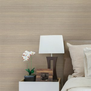 Brewster Wallcoverings Texturall 3 Fernie Challis Silk Wallpaper Roomset