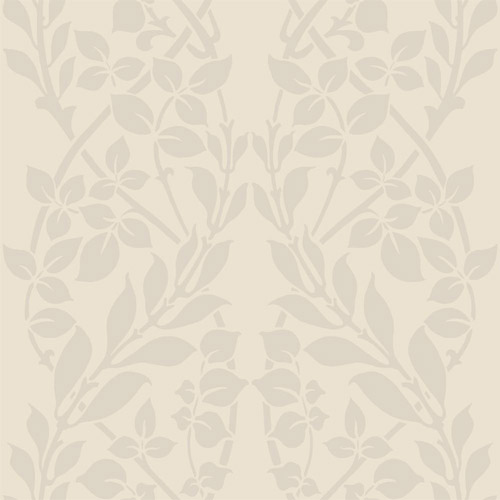 CD4026 York Wallcoverings Candice Olson Decadence Botanica Wallpaper Pearl