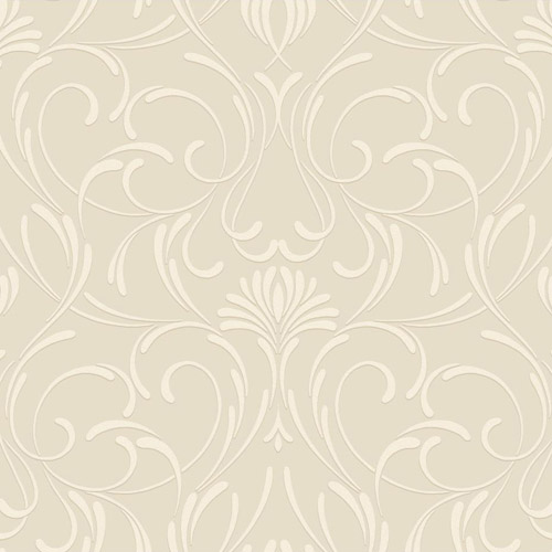CD4089 York Wallcoverings Candice Olson Decadence Amour Wallpaper Beige