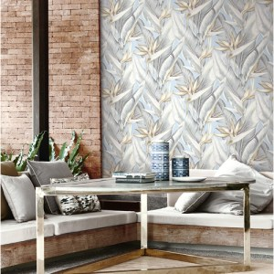 Brewster Wallcoverings Kenneth James Palms Springs Arcadia Wallpaper Roomset