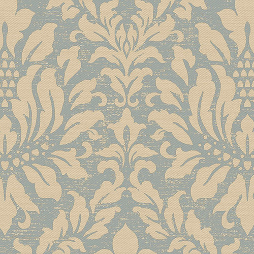 Linen Acanthus Damask Wallpaper Lelands Wallpaper