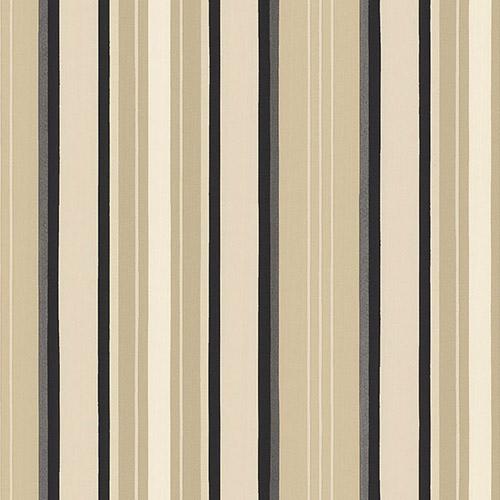TS28106 Patton Wallcoverings Stripes and Damasks 3 Modern Stripe Wallpaper Black