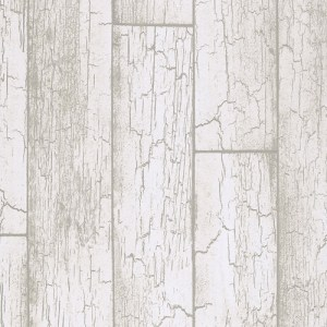 369020 Brewster Wallcovering Eijffinger Resource Esmee Wood Wallpaper Off-White