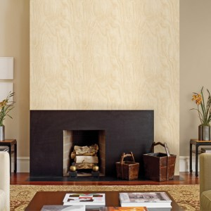 Brewster Wallcoverings A Street Prints Restored Bentham Plywood Wallpaper Roomset