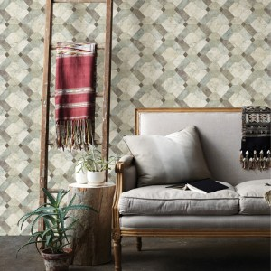 Brewster Wallcoverings A Street Prints Restored Devonshire Marble Wallpaper Roomset