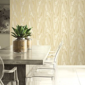 Seabrook Wallcoverings Tortuga Barbados Wallpaper Roomset