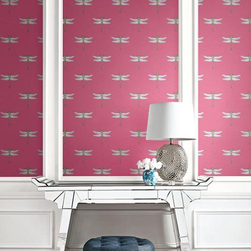 Seabrook Wallcoverings Tortuga Catalina Wallpaper Roomset