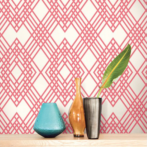 Seabrook Wallcoverings Tortuga Cayman Wallpaper Roomset